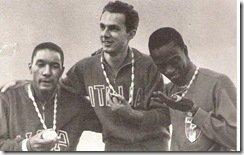 Livio Berruti - Lester Carney - Abdul Seye - 1960 Rome Olympics