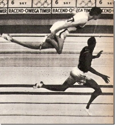 Otis Davis - Carl Kaufman 400m Photo-finish 1960 Rome