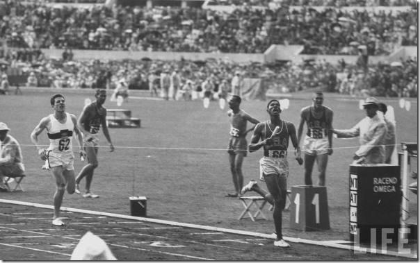 Otis Davis - Carl Kaufman 4x400m 1960 Rome
