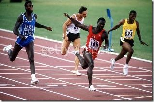 Ben Johnson Carl Lewis Rome World Outdoor Championships 1987