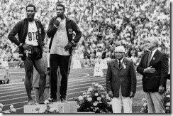 Wayne Collett Vince Matthews 1972 400 meter Olympic ceremony