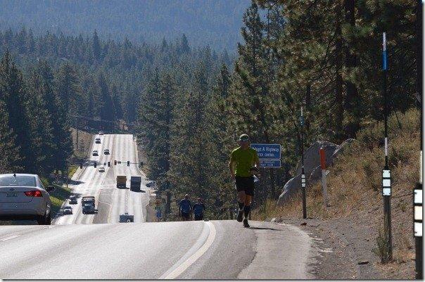Day 1 - Lake Tahoe Triple Marathon