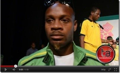 Asafa Powell Interview