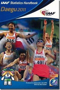IAAF Stats Handbook for Daegu 2011 - 250x375