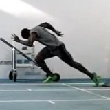 "Dwain Chambers ""Jamaican"" Toe-scrape Foot Drag"