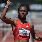 Kellie Wells Training and Hurdle Touchdown Times