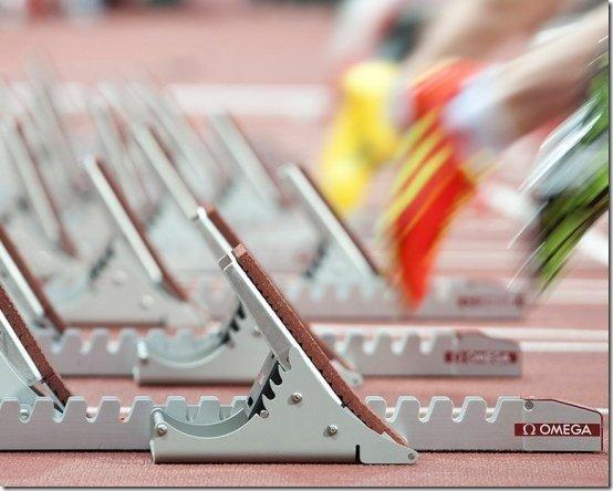 new omega olympic starting blocks 2