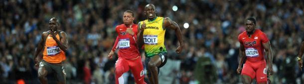 Usain Bolt 20 Meter Splits at London 2012 Olympics