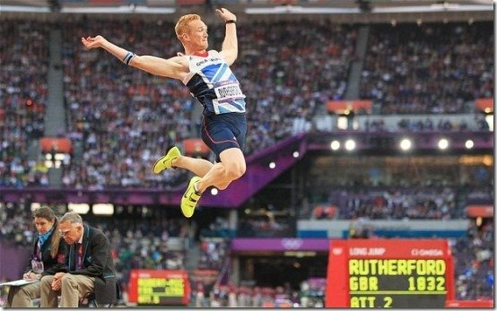 Greg Rutherford Team GB London 2012