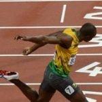 Usain Bolt 9.63!  Yohan Blake 9.75! Justin Gatlin 9.79!
