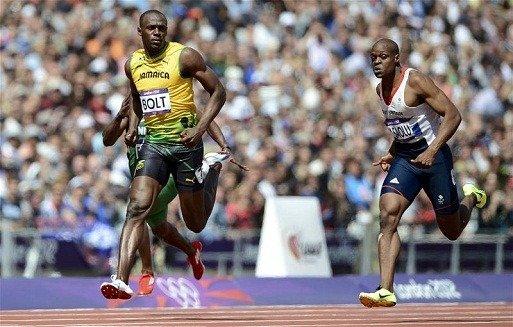 Usain Bolt MPH in Top Speed