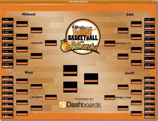 2013 NCAA Final Four March Madness Basketball tournement