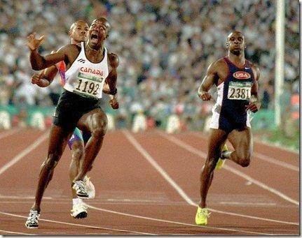 Donovan Bailey Atlanta 1996 Olympic Games 100 meters