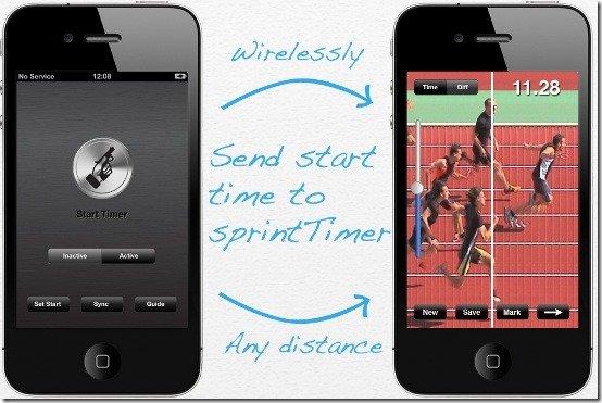 iPhone sprintTimer 1