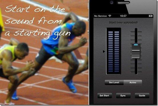 iPhone sprintTimer 2