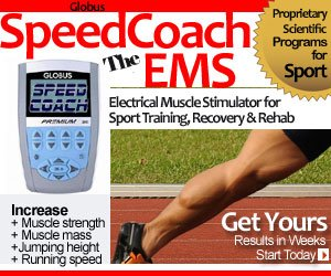 electrical muscle stimulator globus speedcoach best ems for sport training