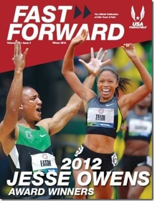 Fast Forward and Track Coach Magazine 300