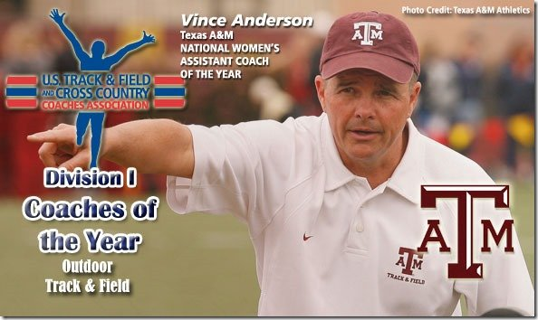 Vince Anderson Coach of the Year