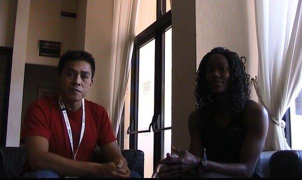 Interview with Yvette Lewis, Hurdler, Jumper, & Heptathlete? [SpeedEndurance TV]