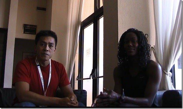 Jimson Lee with Yvette Lewis SpeedEndurance TV