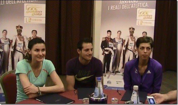 Rome Golden Gala - Blanka VLASIC, Anna CHICHEROVA, Renaud LAVILLENIE