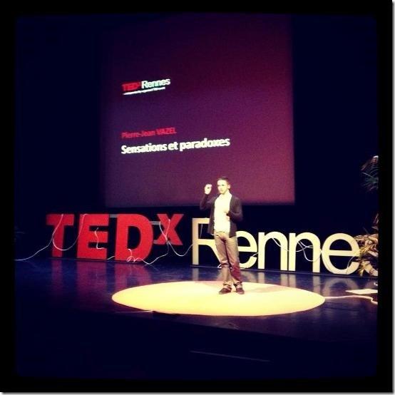 Pierre Jean Vazel - TedX Rennes 2013