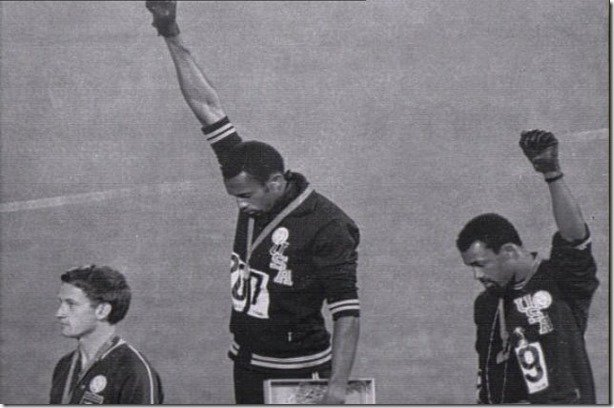 Tommie Smith John Carlos Peter Norman 1968 Olympics