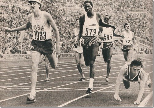 Dave Wottle 800 meters 1972 Olympics