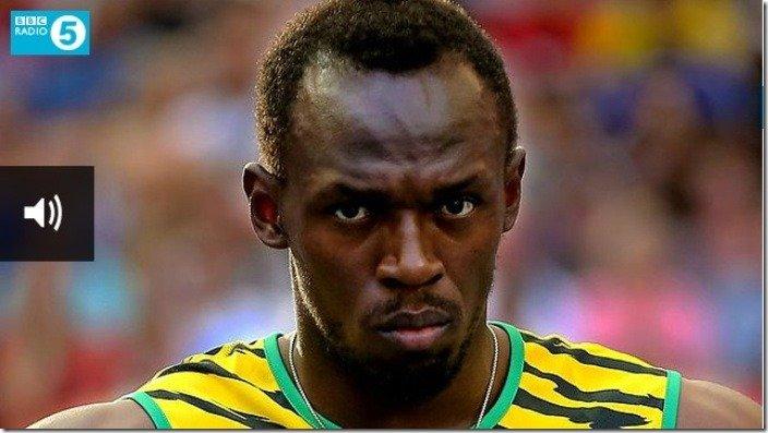 Usain Bolt on BBC