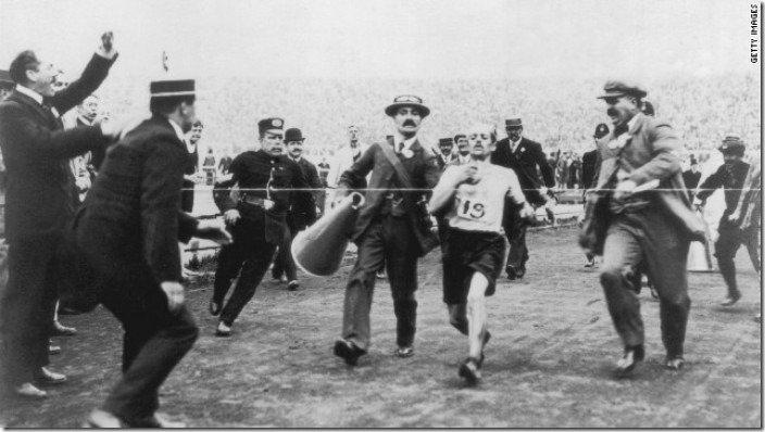 Dorando Pietri 1908 Marathon