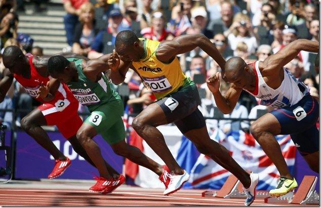 Usain Bolt Drive Phase