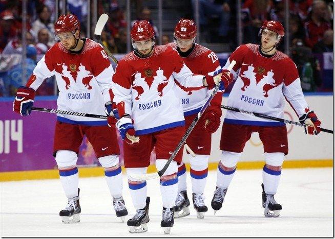 Russia Hockey Sochi Olympics