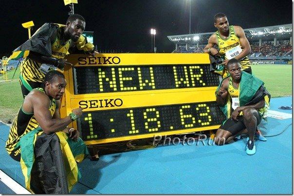 Jamacia Men 4x200 WR-Bahamas14