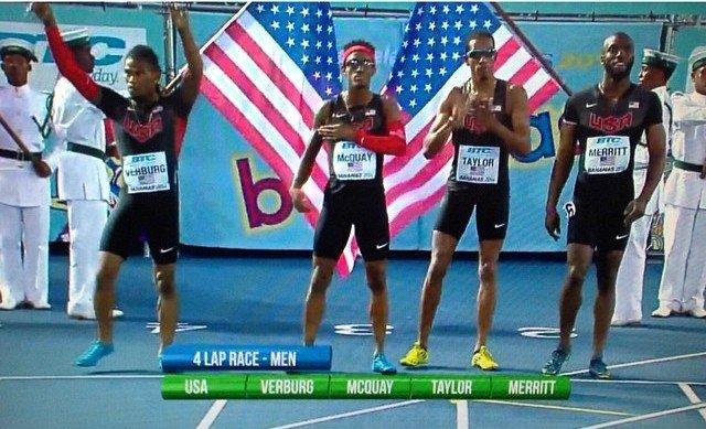 USA 4x400 relay