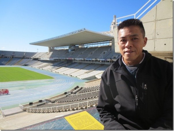 jimson lee barcelona stadium
