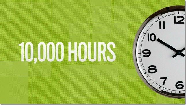 10000 hour rule