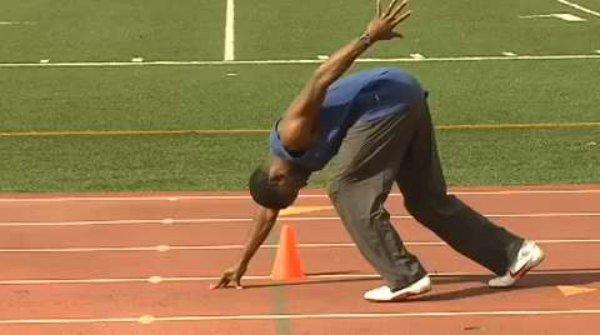 Leroy Dixon training