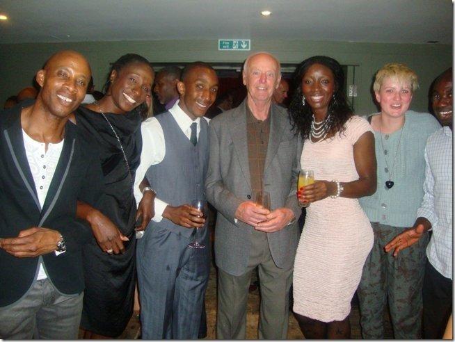 Ron Rodden and Lesley Owusu