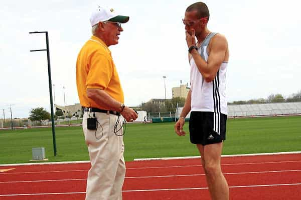 Coach Clyde Hart Jermey Wariner