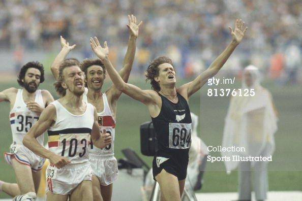 Ivo Van Damme 1976 Montreal Olympics