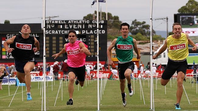 stawell gift handicap race
