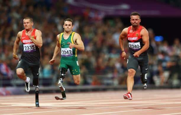 Scott Reardon, T42 Paralympian