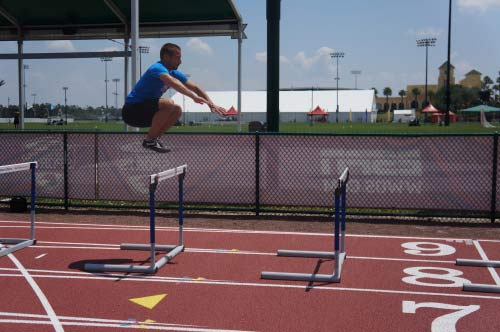 plyometric-hurdle-hops