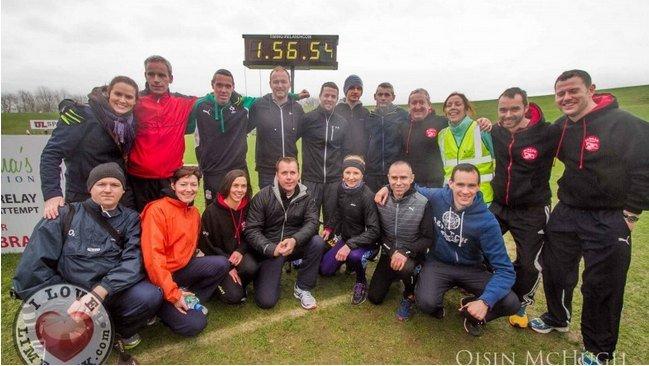 Cliona's Foundation Break the World Marathon Relay Record - I Love Limerick