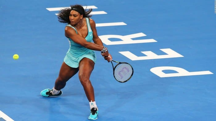 Did Serena Williams cheat with coffee?