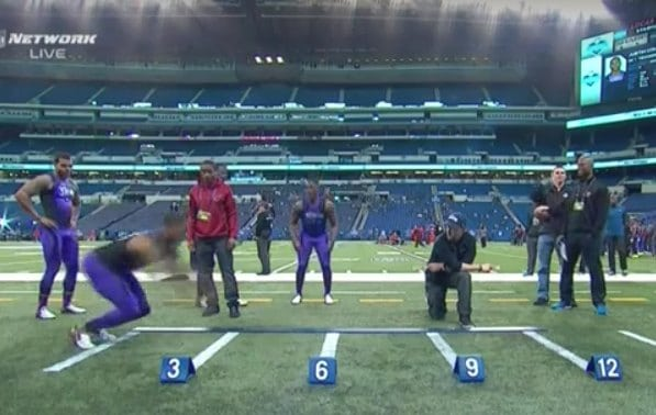 "Byron Jones 12' 3"" Standing Long Jump World Record Video"