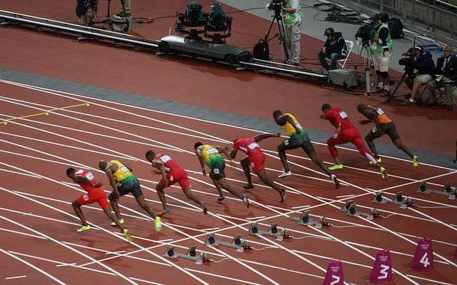 Why Do You Hear the Gun AFTER the Sprinters Leave the Blocks?