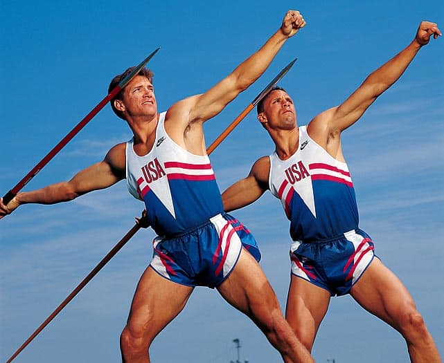 Dan OBrien and Dave Johnson Before the 1992 Olympic Games