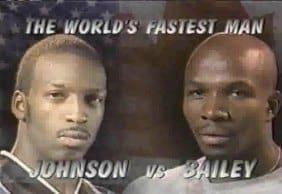 Michael Johnson Donovan Bailey World Fastest Man