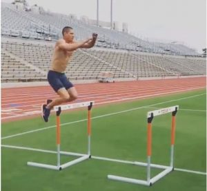 Trey Hardee Hurdle Hops – and Why you Should do Plyometrics